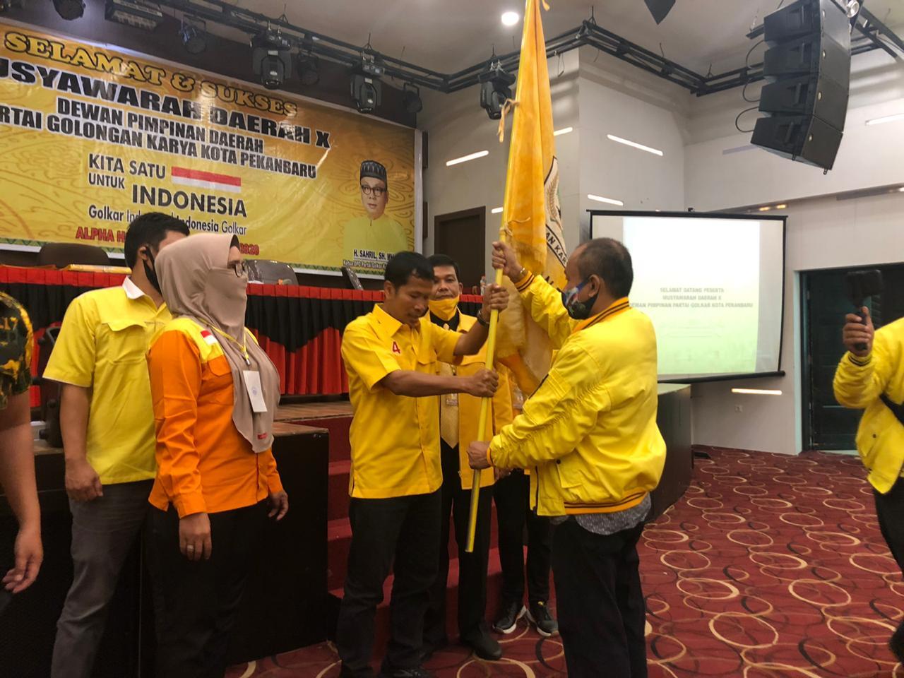 Tahniah! Ida Yulita Susanti Mundur, Sahril Ditetapkan Jadi Ketua Golkar Kota Pekanbaru