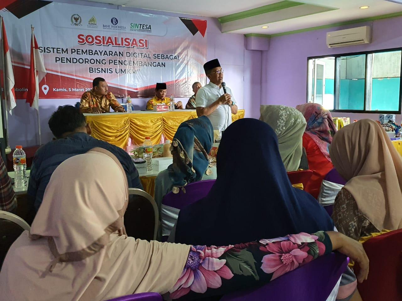 Blusukan ke Probolinggo, Misbakhun Ajak Bank Indonesia Perkuat Sektor UMKM