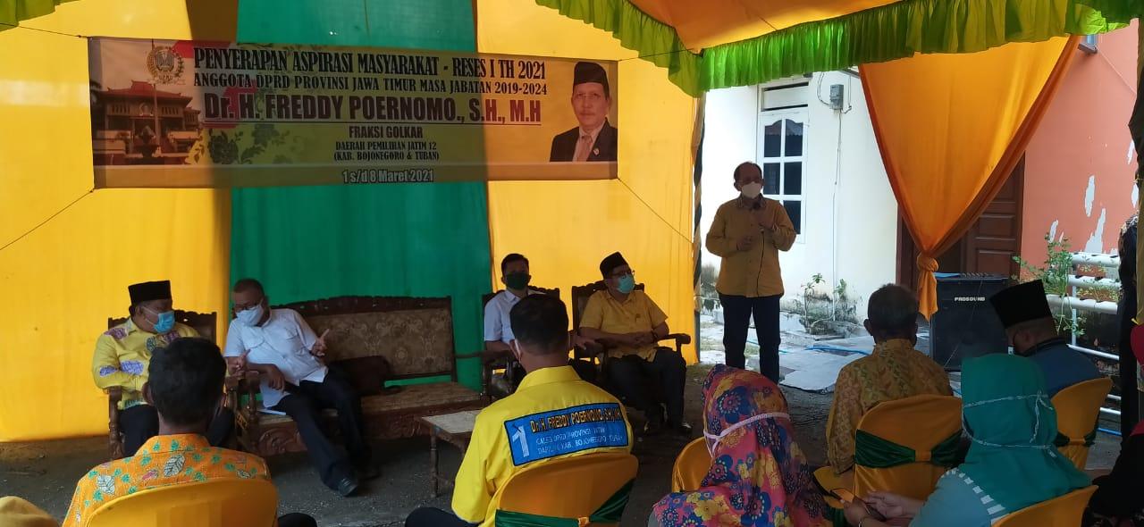 Freddy Poernomo Siap Fasilitasi Para Petani Bojonegoro Dapatkan Izin Pupuk Organik Mandiri