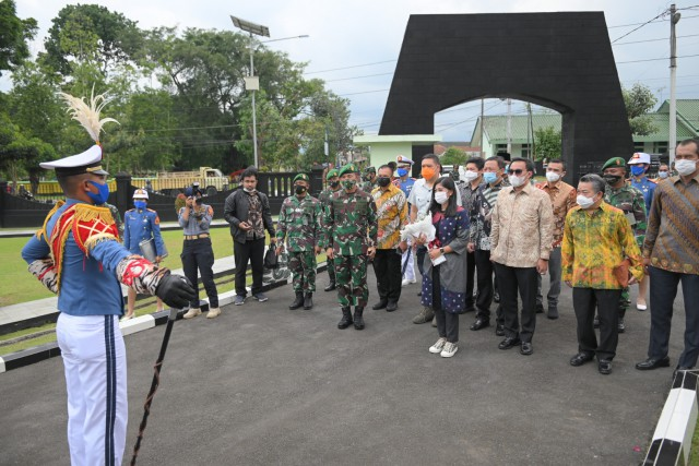 Meutya Hafid Harap Akmil Mampu Jawab Tantangan TNI di Era Globalisasi