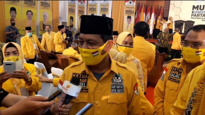 Sahbirin Noor Kembali Terpilih Aklamasi Pimpin Golkar Kalsel 2020-2025