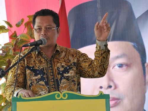 Motivasi Kaum Muda Muara Jawa, Mahyudin Tuturkan Kisah Sukses Dirinya