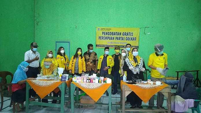 Banjir Kota Semarang Surut, Padmasari Mestikajati Bersama KPPG Jateng Gelar Pengobatan Gratis
