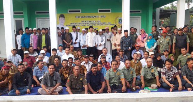 Reses Ahmad Jaini Disambut Antusias Warga Kawasan Akong Desa Karet