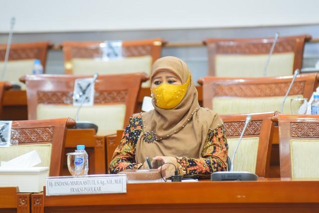 Desak Jokowi Lebih Perhatikan Masalah Perempuan dan Anak, Endang Maria Astuti Minta Anggaran KPPPA Ditambah