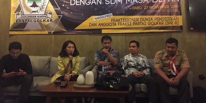 Fraksi Golkar Dorong Revisi UU Sisdiknas Masuk Prolegnas 2019-2024