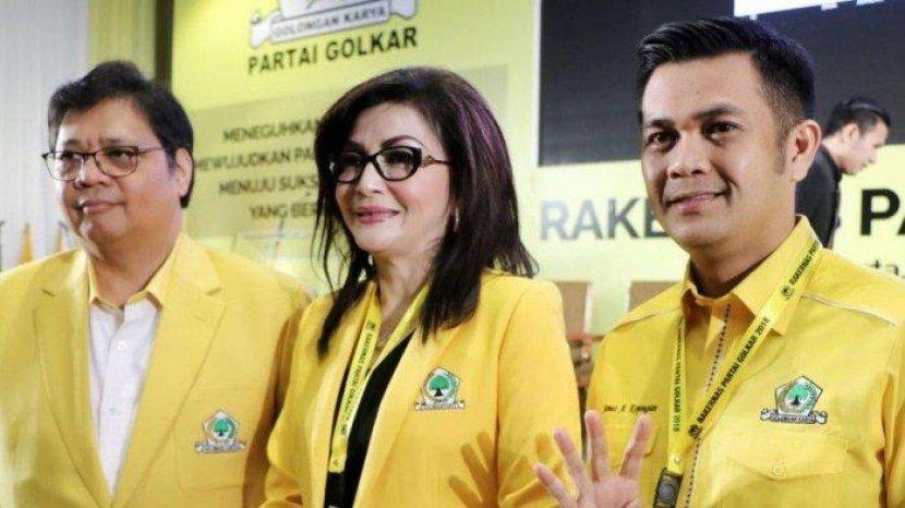 Instruksi Airlangga, Tetty Paruntu Segera Bangun Yellow Clinic di Kantor Golkar Sulut