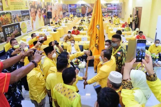 Mahyaruddin Salim Batubara Terpilih Aklamasi Pimpin Golkar Tanjungbalai