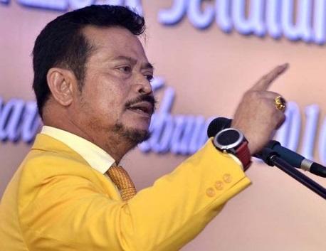 Syahrul Yasin Limpo Sesumbar Siap Ambil Alih Golkar Dari Tangan Novanto