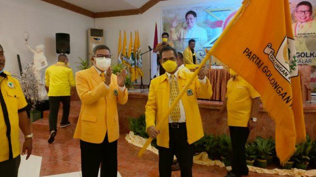 Terpilih Aklamasi Pimpin Golkar Takalar, Zulkarnain Arief Targetkan 7 Kursi DPRD