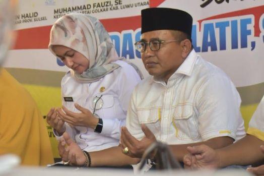 Di Tengah Bencana Banjir Bandang Masamba, Muhammad Fauzi Gugah Rasa Kemanusiaan