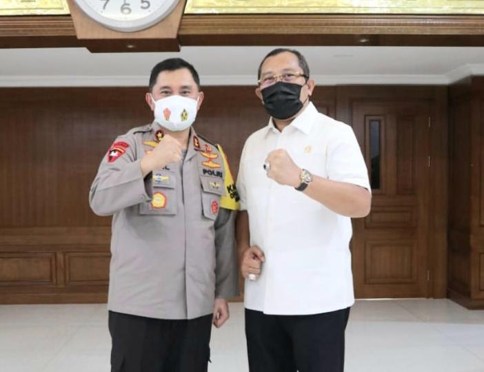 Pergantian Kapolda Jatim, Sahat Simanjuntak: Selamat Sukses Pak Fadil Imran, Selamat Datang Pak Nico Karo Karo