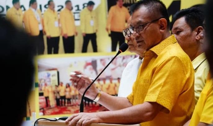Lodewijk Paulus Ancam Sanksi Kader Golkar Yang Tidak Dukung Jokowi-Ma'ruf Amin