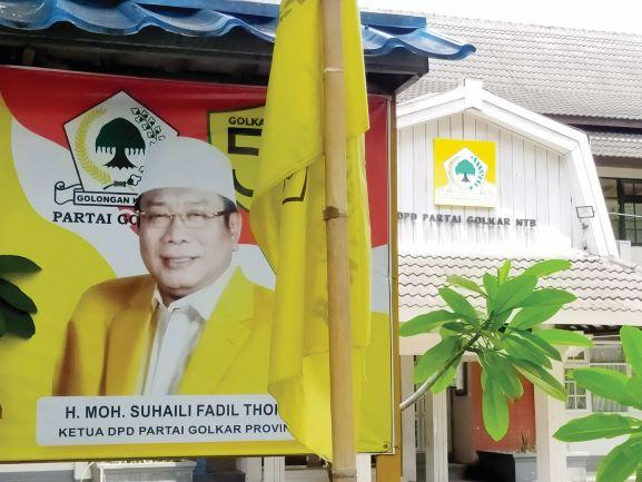 Kepengurusan Suhaili FT Demisioner, DPP Ambil Alih Golkar NTB