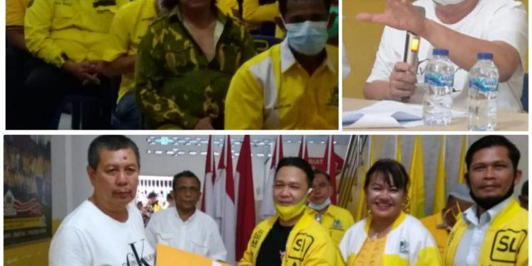 Syaf Lubis Serahkan SK 21 Pimpinan Kecamatan, Kader Golkar se-Kota Medan Solid Berjuang