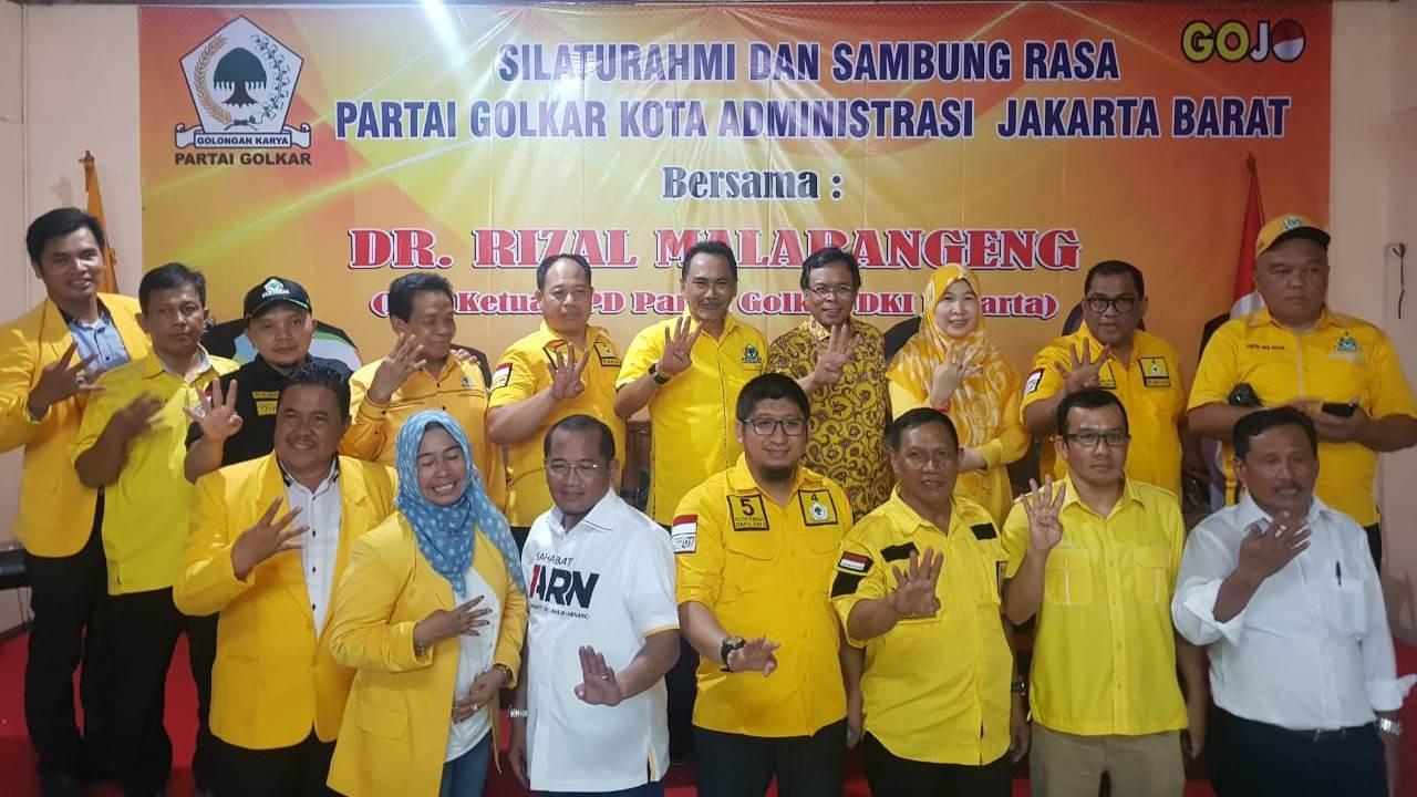 Tuparjo Targetkan Golkar Jakbar Raih 5 Kursi DPRD DKI Jakarta