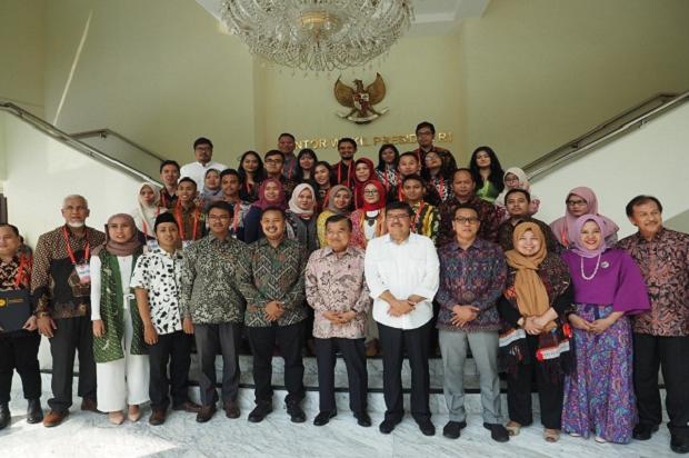 Damaikan Indonesia Dengan Tangan Dingin, Ini Pesan Jusuf Kalla Untuk Para Pemuda