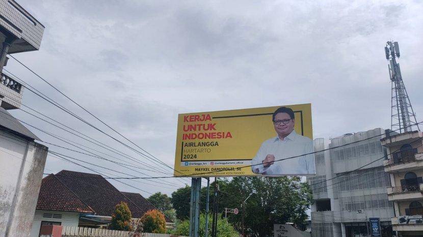 Airlangga Enggan Komentari Maraknya Baliho Capres 2024 Yang Dipasang Kader Golkar se-Indonesia