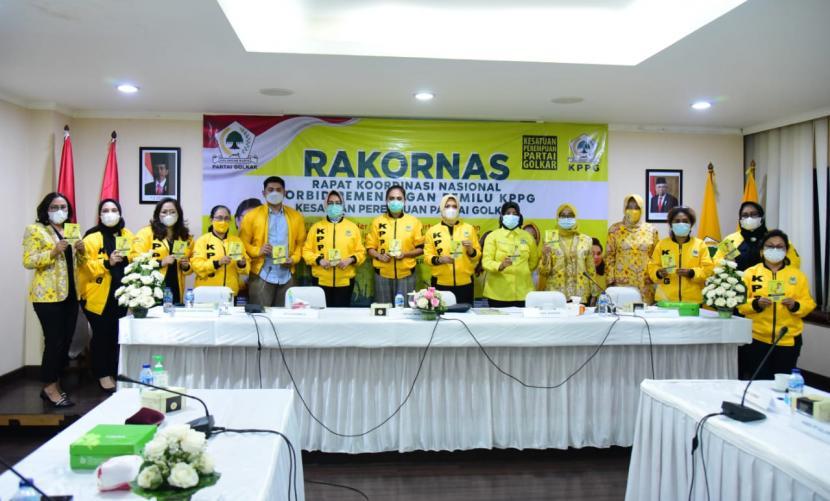 KPPG Gelar Rakornas Solidkan Kader Perempuan Dukung 60 Persen Kemenangan Golkar di Pilkada