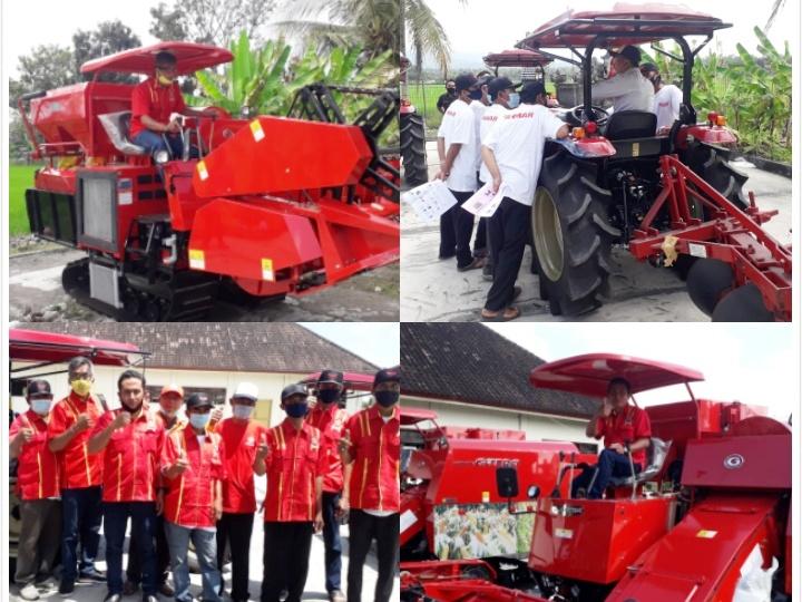 Gus Adhi dan SOKSI Bali Beri Pelatihan Pengoperasian Dan Perbaikan Alsintan Bagi Petani Binaan di Jembrana