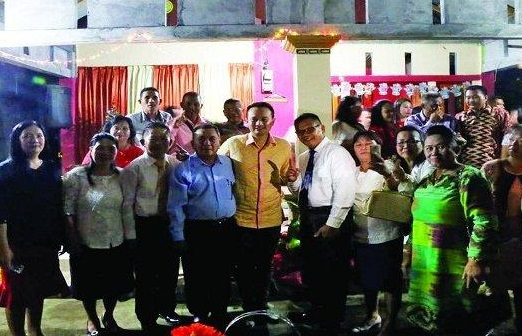 Serap Aspirasi Masyarakat Sinonsayang, Jerry Sambuaga Didoakan Puluhan Pendeta
