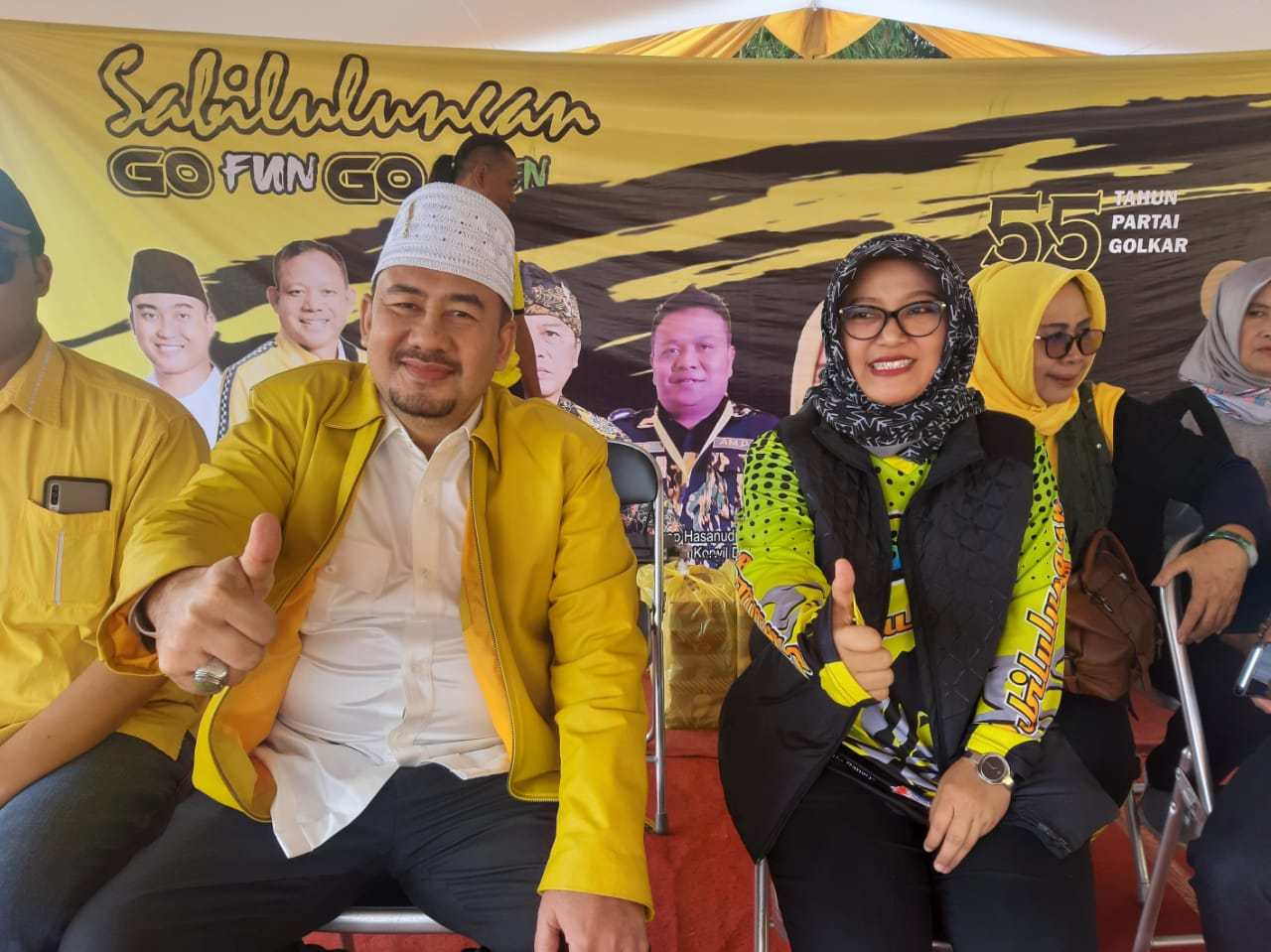 Deding Ishak Dinilai Sosok Ideal Pendamping Nia Dadang Naser di Pilbup Bandung