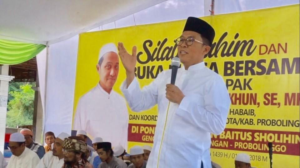 Misbakhun Serap Aspirasi Masyarakat Probolinggo di Ponpes Zainul Hasan Genggong