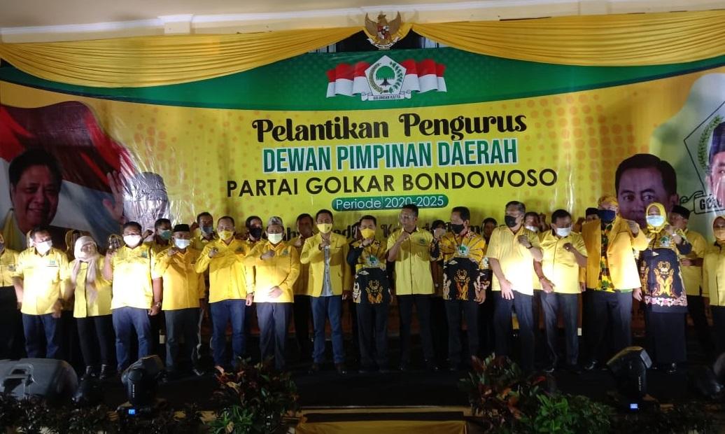 Golkar Bondowoso Siap Rangkul Kaum Milenial dan Para Pemilih Pemula