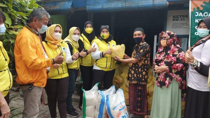 Sri Hariningsih Pimpin IIPG Jateng Santuni Warga Korban Bencana di Semarang, Demak, Kudus dan Brebes