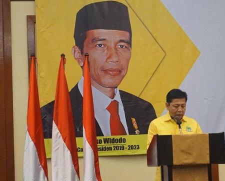 Setya Novanto Bantah Isu Dirinya Menyesal Capreskan Lagi Jokowi