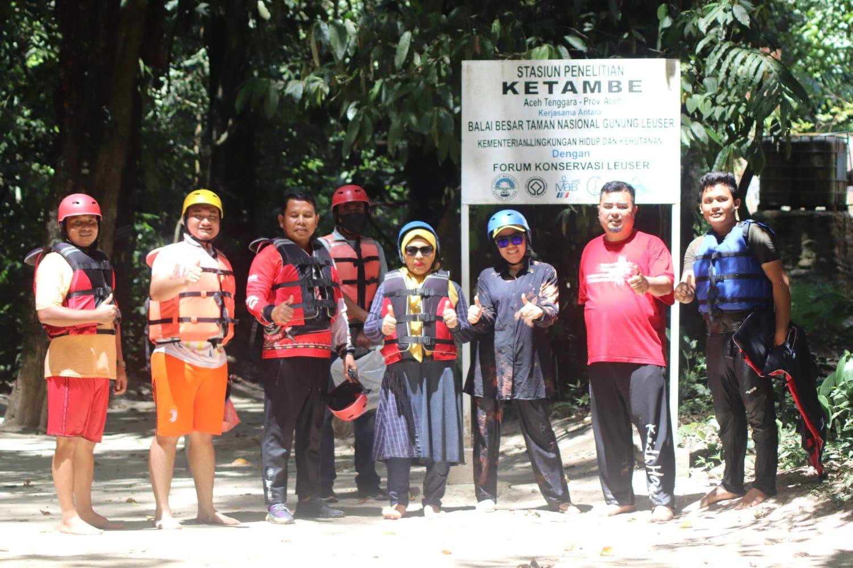 Gunung Leuser Paru-Paru Dunia, Alien Mus Soroti Sampah Melimpah Ruah di DAS Aceh Tenggara