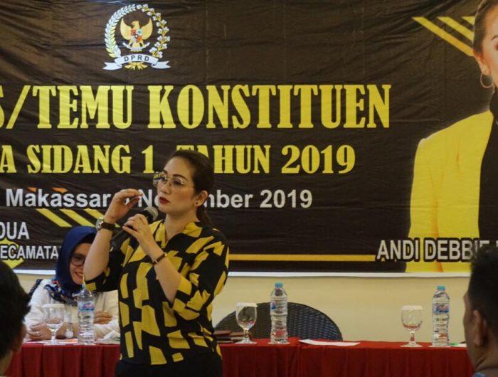 Andi Debbie Purnama Janji Perjuangkan Kesejahteraan Guru SMA/SMK di Sulsel