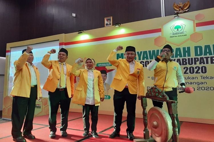 Menangkan Ratu Tatu-Pandji, Kader Golkar Kabupaten Serang Siap Door To Door
