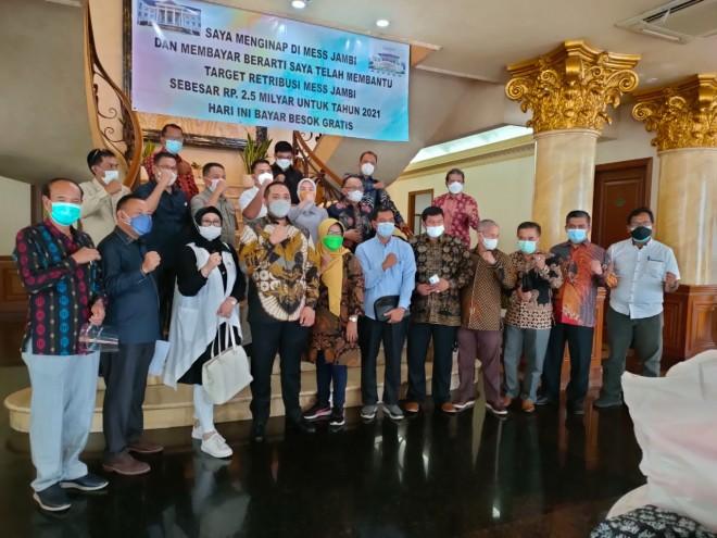 Pinto Jayanegara Pimpin Rombongan DPRD Provinsi Jambi Kunjungan Kerja Ke Kemendagri