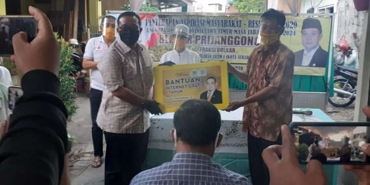 Permudah Pelajar PJJ, Blegur Prijanggono Pasang Wifi Gratis di 100 Titik di Kota Surabaya