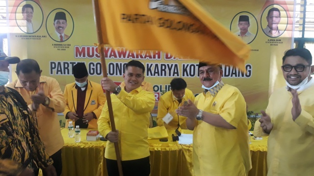 Iqra Chissa Putra Terpilih Aklamasi Pimpin Golkar Kota Padang