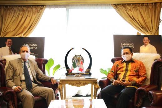 Bamsoet Rayu Investor Italia Bangun Sirkuit F1 di Bali