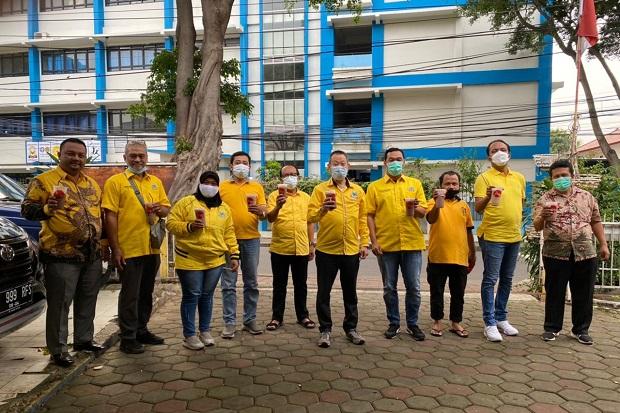 Mulai Menggeliat Lagi, Golkar Jakbar Siap Vaksinasi 1.000 Kader di 5 Kecamatan