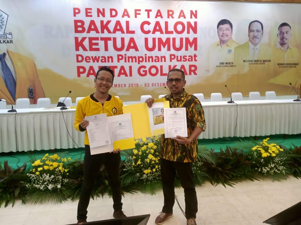 Kader Golkar Milenial, Achmad Annama Jadi Pendaftar Pertama Caketum Golkar