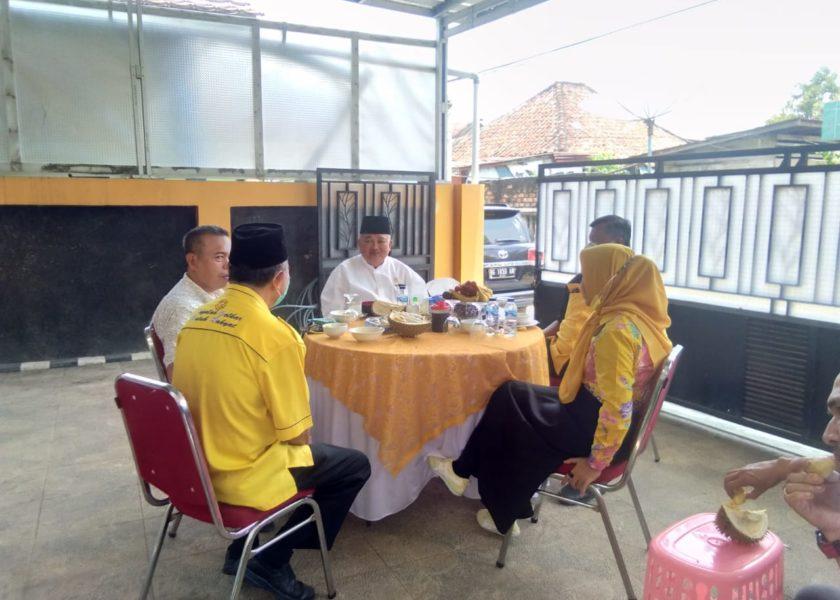 Alex Noerdin Resmikan PJU Tenaga Surya dan Sumur Bor Untuk Warga Desa Keban Lahat