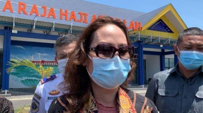 Terhenti Karena Pandemi, Cen Sui Lan Perjuangkan Pembangunan Bandara Karimun Dilanjutkan