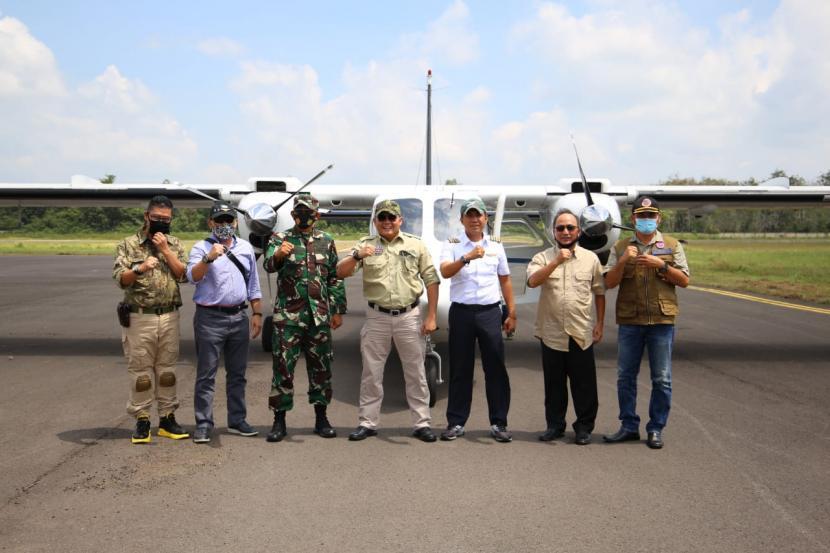 Operasikan Bandara Pangeran Abdul Hamid Sekayu, Bupati Dodi Reza Siap Gandeng Dengan Lions Group