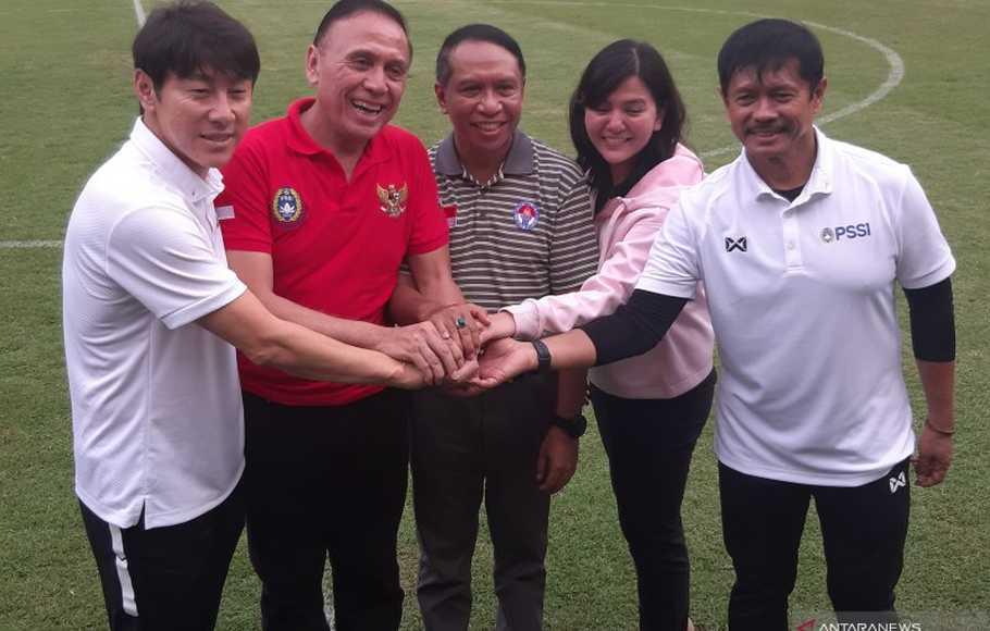 Menpora Zainudin Amali Desak Shin Tae Yong dan PSSI Segera Berdamai