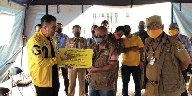 Nofel Saleh Hilabi Sumbang Rp.120 Juta Untuk Dapur Umum di 12 Kecamatan se-Kota Bekasi