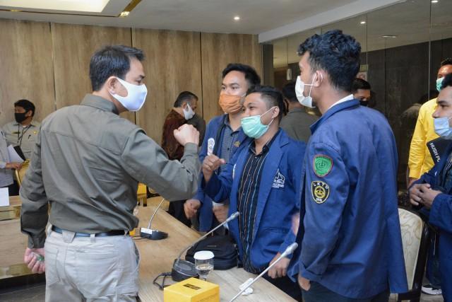 Gedung Kejagung Habis Terbakar, Azis Syamsuddin Ingatkan Penegakan Hukum Harus Terus Berlanjut
