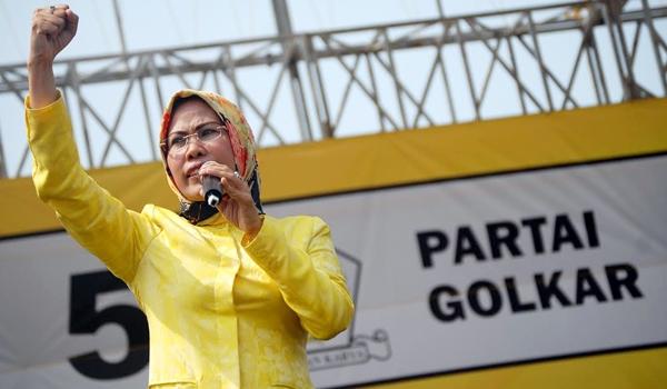 Ratu Tatu Chasanah Pastikan Golkar Usung Kader Internal di Pilwalkot Tangsel 2020
