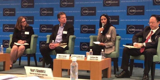 Bangga! Legislator Milenial Golkar Bicara Global Warming di Pasific Energy Summit