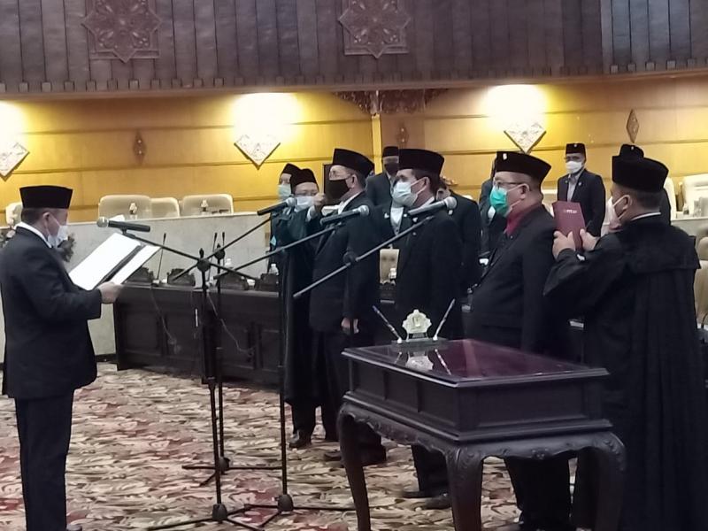 Gantikan Aditya Halindra, Freddy Poernomo Resmi Dilantik Jadi Anggota DPRD Jatim