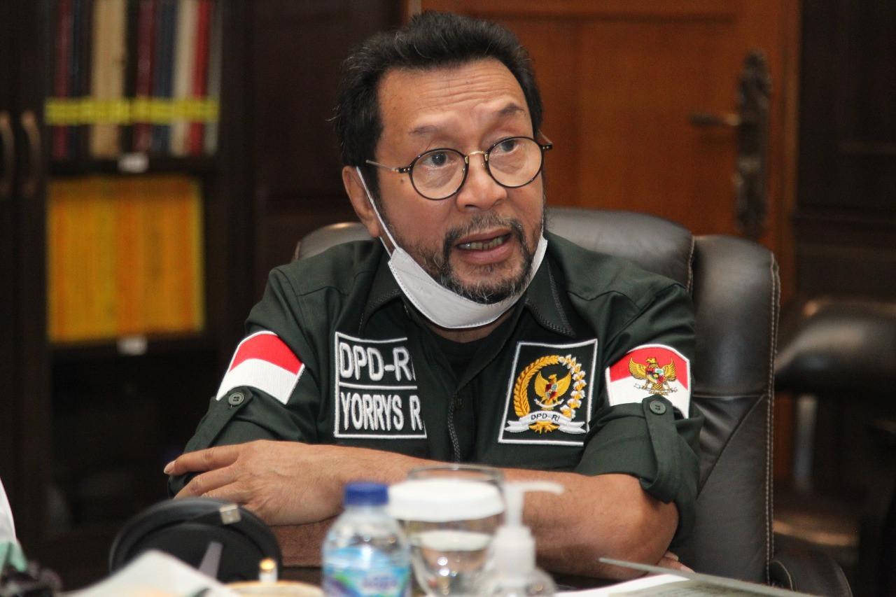 Yorrys Raweyai Minta Kemendag Libatkan DPD Dalam Revitalisasi Pasar Rakyat