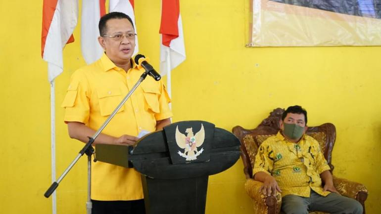 Reses di Banjarnegara, Bamsoet Ajak Kader Golkar Sosialisasikan Fakta Tentang UU Cipta Kerja